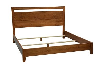 dark bed frame